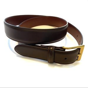 """Coach Brown Leather Belt 38"""""""